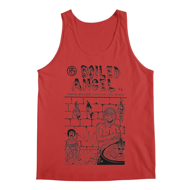 Boiled Angel #1 Cover Men's Regular Tank by Mike Diana T-Shirts Mugs and More!