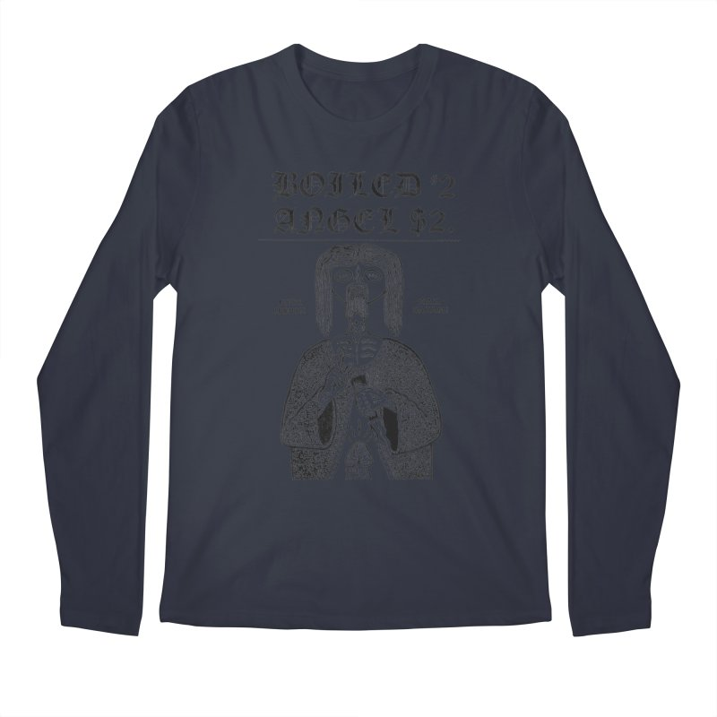 Mike Diana - Boiled Angel #2 Cover Men's Regular Longsleeve T-Shirt by Mike Diana T-Shirts Mugs and More!