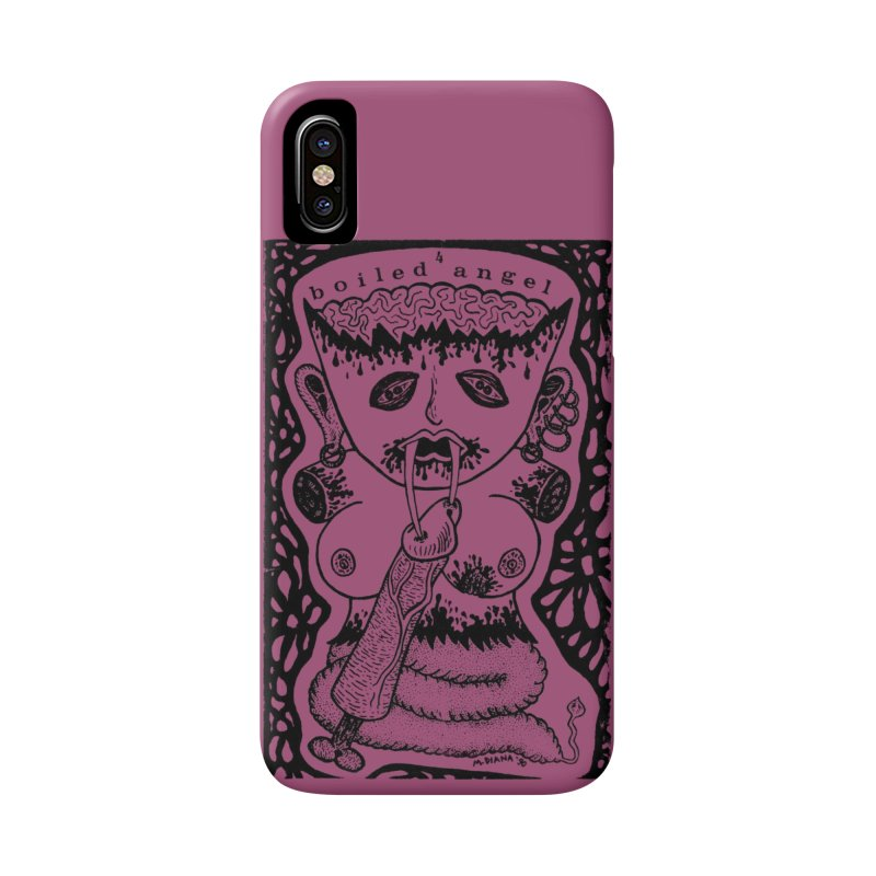 Mike Diana - Boiled Angel #4 Cover Accessories Phone Case by Mike Diana T-Shirts Mugs and More!