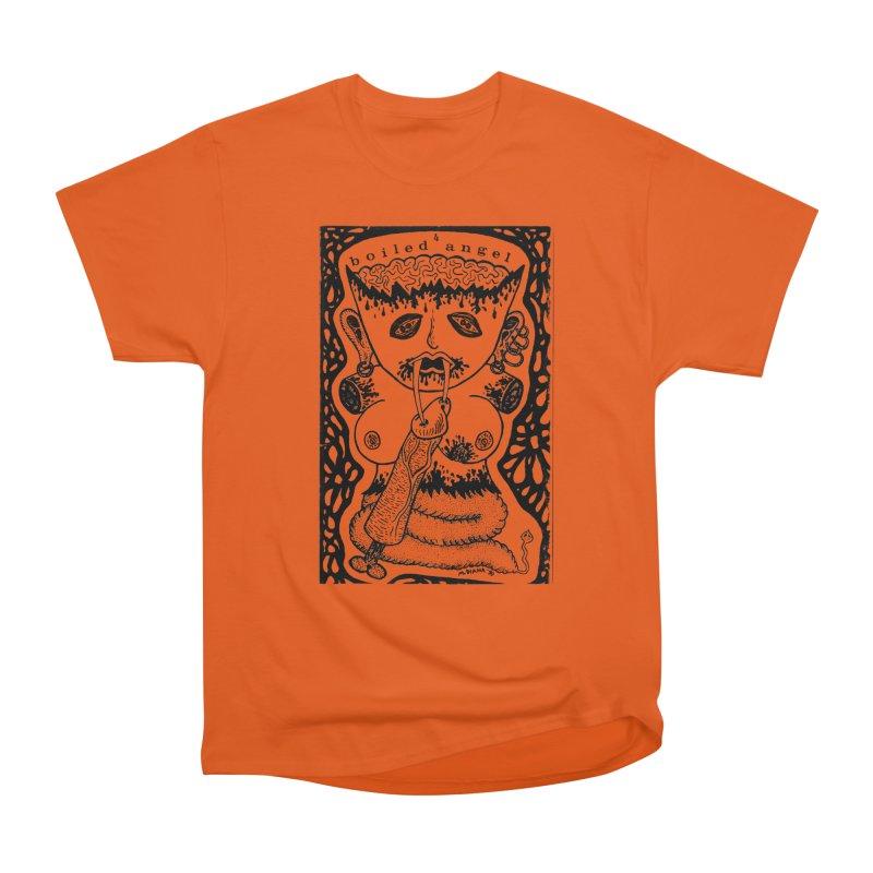 Mike Diana - Boiled Angel #4 Cover Men's Heavyweight T-Shirt by Mike Diana T-Shirts! Horrible Ugly Heads Limited E