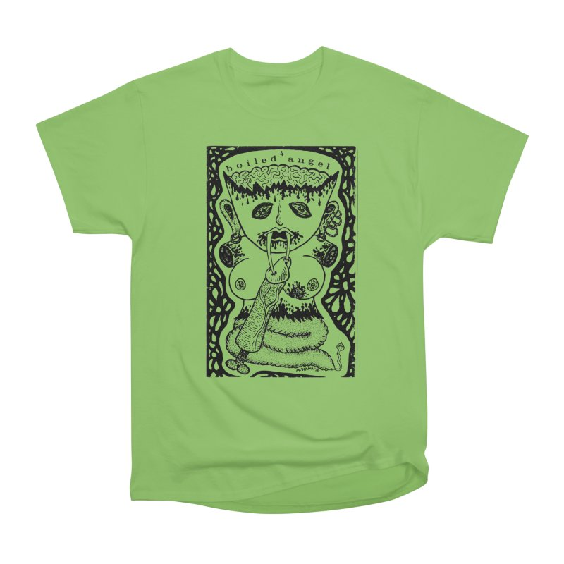 Mike Diana - Boiled Angel #4 Cover Men's Heavyweight T-Shirt by Mike Diana T-Shirts Mugs and More!