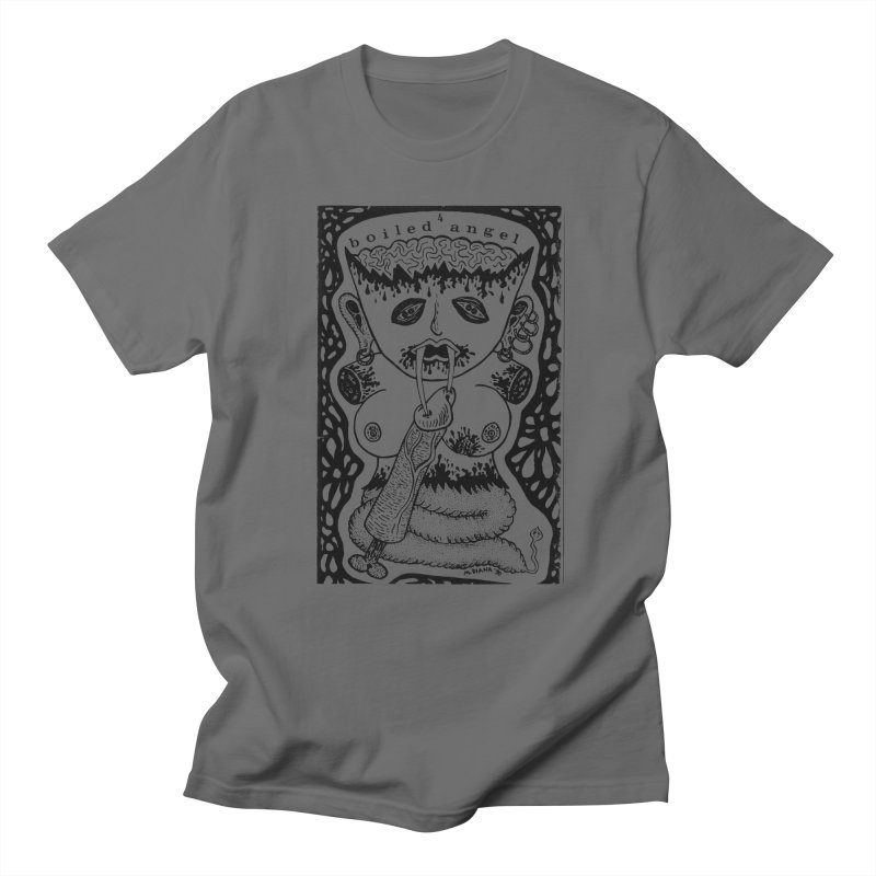 Mike Diana - Boiled Angel #4 Cover Men's T-Shirt by Mike Diana T-Shirts Mugs and More!