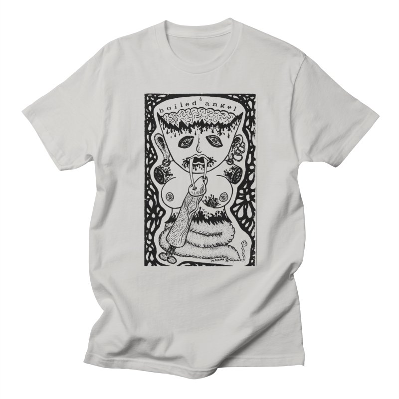 Mike Diana - Boiled Angel #4 Cover Men's Regular T-Shirt by Mike Diana T-Shirts! Horrible Ugly Heads Limited E