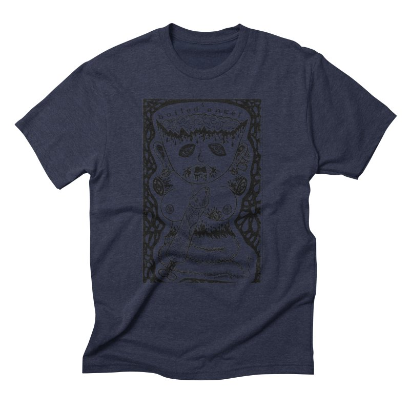 Mike Diana - Boiled Angel #4 Cover Men's Triblend T-Shirt by Mike Diana T-Shirts Mugs and More!