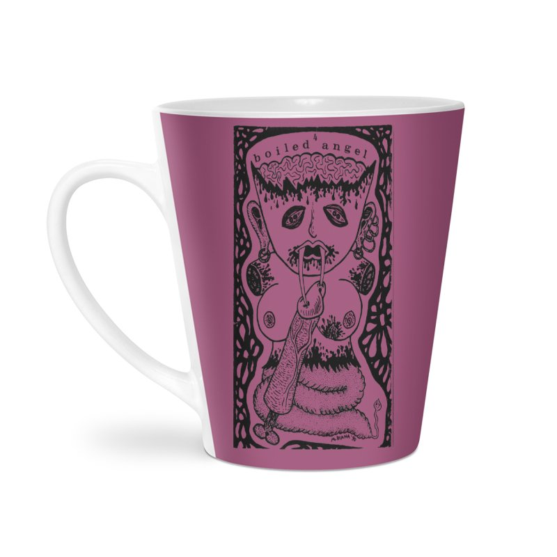 Mike Diana - Boiled Angel #4 Cover Accessories Latte Mug by Mike Diana T-Shirts Mugs and More!
