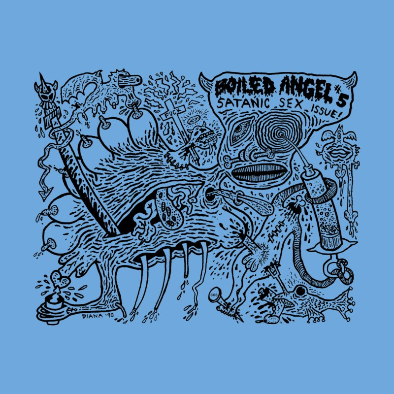 Mike Diana - Boiled Angel #5 Cover Men's Longsleeve T-Shirt by Mike Diana T-Shirts Mugs and More!