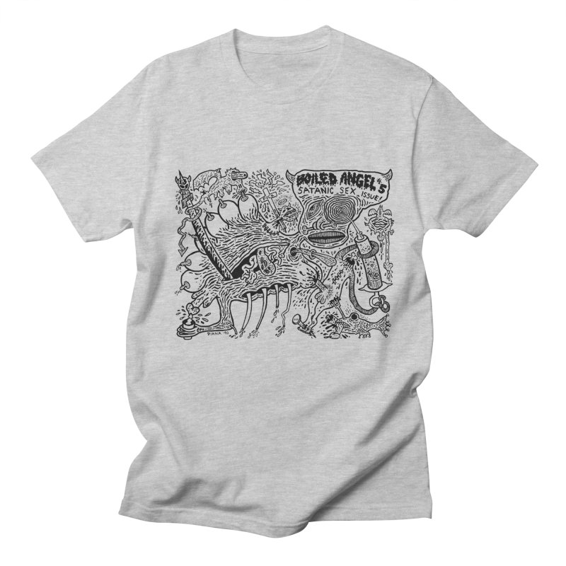 Mike Diana - Boiled Angel #5 Cover Men's Regular T-Shirt by Mike Diana T-Shirts Mugs and More!