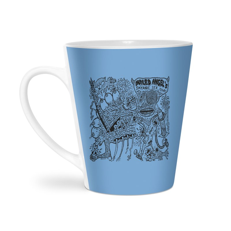 Mike Diana - Boiled Angel #5 Cover Accessories Latte Mug by Mike Diana T-Shirts Mugs and More!