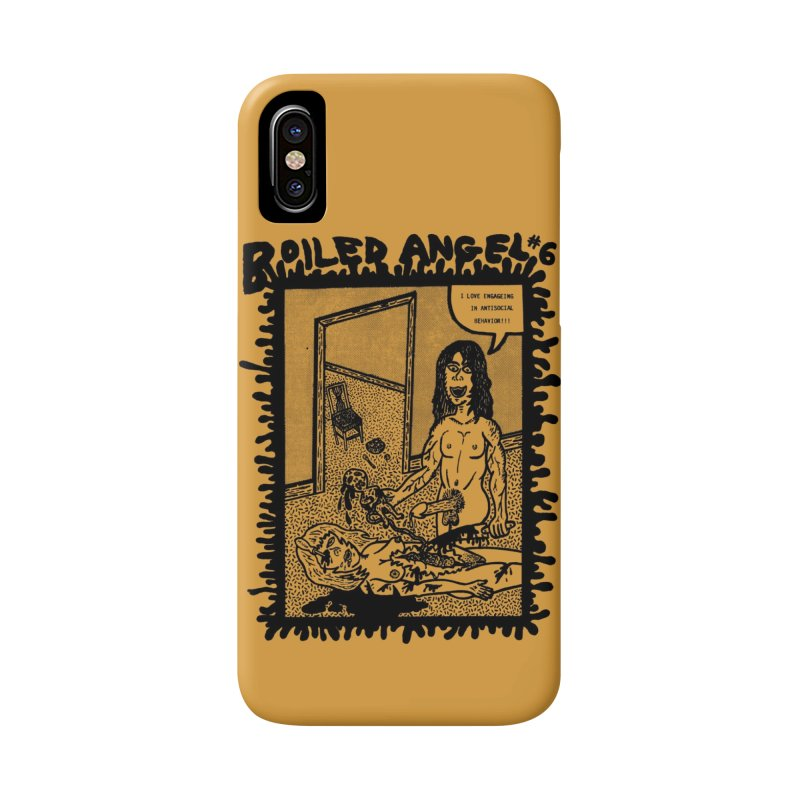 Mike Diana - Boiled Angel #6 Cover Accessories Phone Case by Mike Diana T-Shirts Mugs and More!