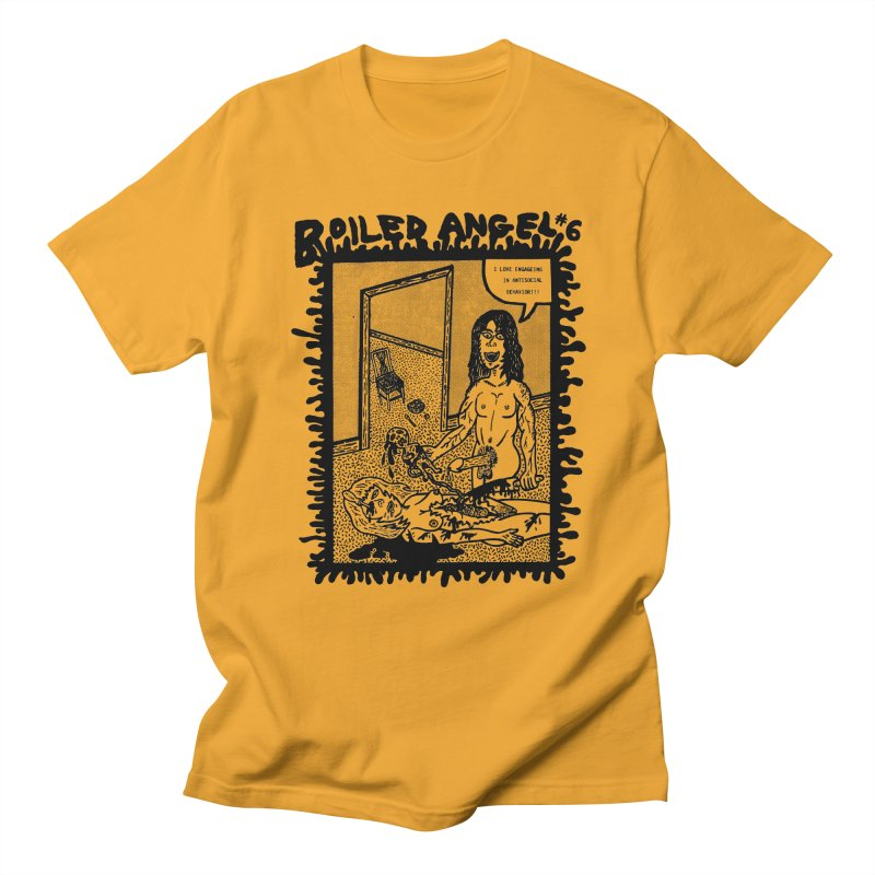 Mike Diana - Boiled Angel #6 Cover Men's Regular T-Shirt by Mike Diana T-Shirts Mugs and More!