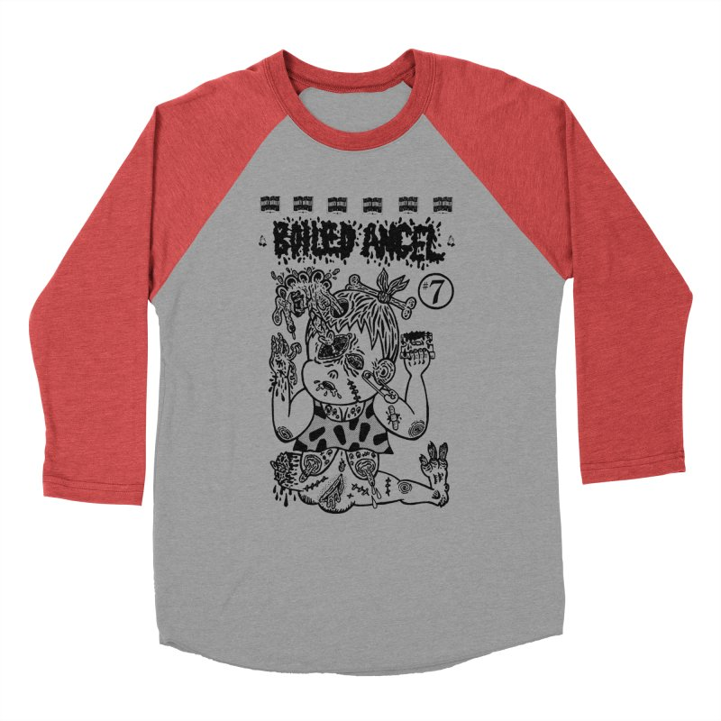 Mike Diana - Boiled Angel #7 Cover Men's Longsleeve T-Shirt by Mike Diana T-Shirts Mugs and More!