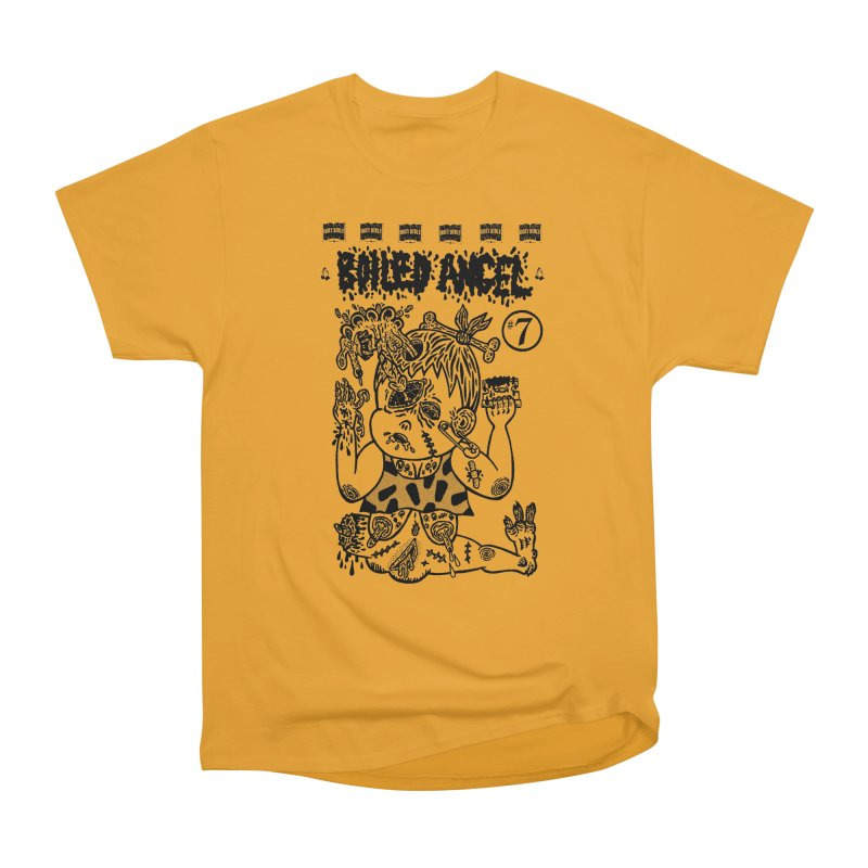 Mike Diana - Boiled Angel #7 Cover Men's Heavyweight T-Shirt by Mike Diana T-Shirts Mugs and More!