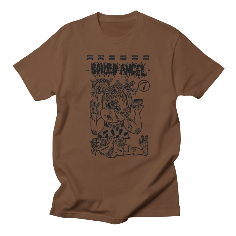 Mike Diana - Boiled Angel #7 Cover Men's Regular T-Shirt by Mike Diana T-Shirts Mugs and More!