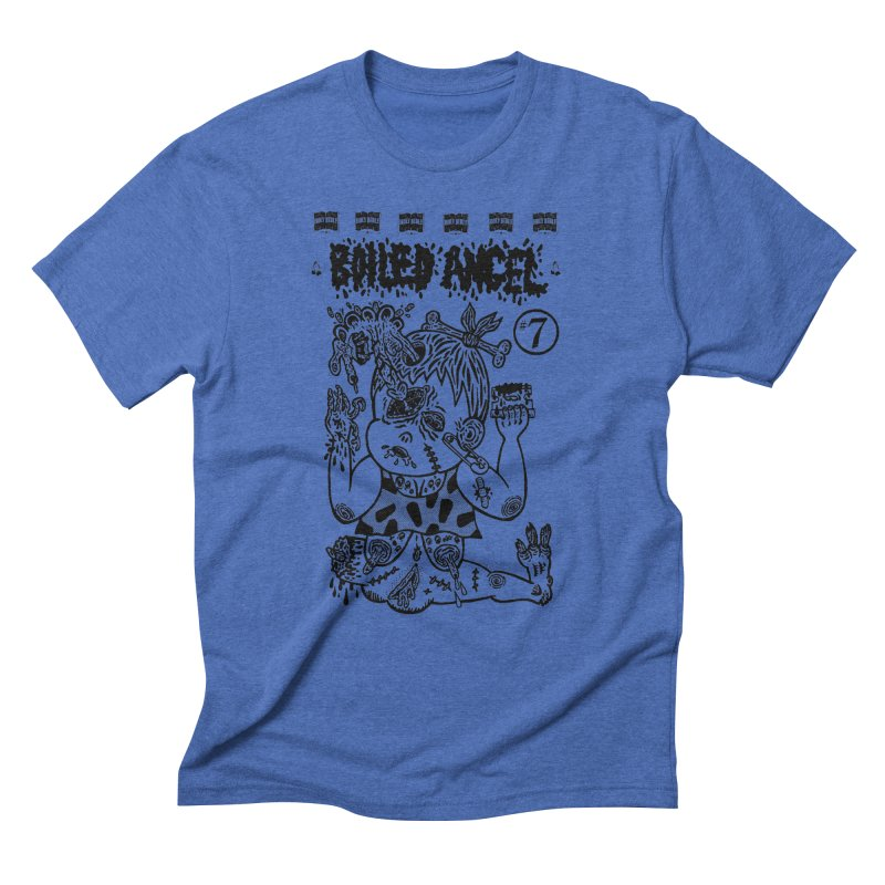 Mike Diana - Boiled Angel #7 Cover Men's Triblend T-Shirt by Mike Diana T-Shirts Mugs and More!
