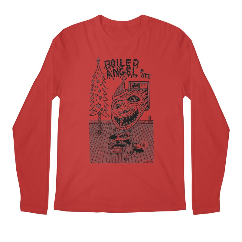 Mike Diana - Boiled Angel #8 Cover Men's Regular Longsleeve T-Shirt by Mike Diana T-Shirts! Horrible Ugly Heads Limited E