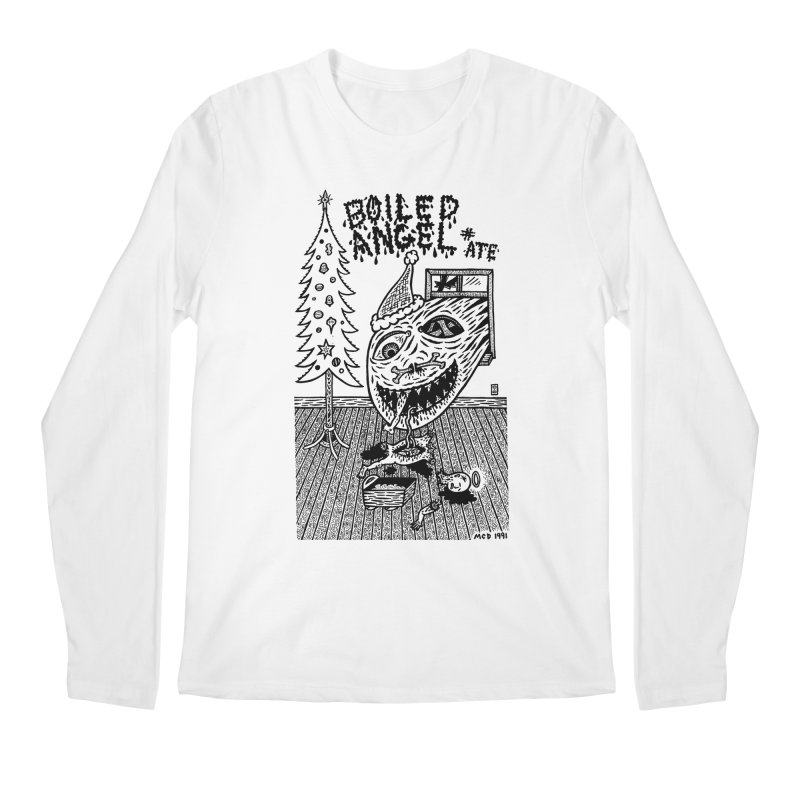 Mike Diana - Boiled Angel #8 Cover Men's Regular Longsleeve T-Shirt by Mike Diana T-Shirts Mugs and More!