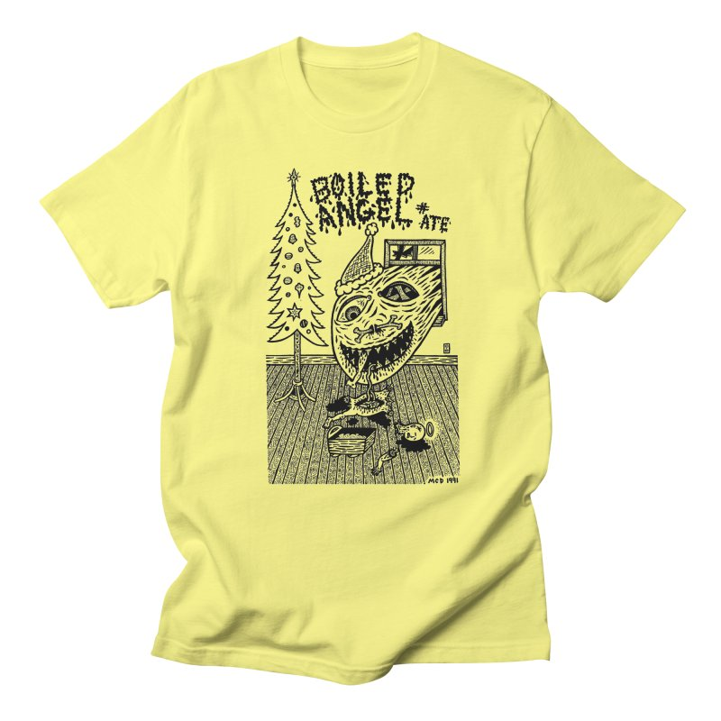 Mike Diana - Boiled Angel #8 Cover Men's Regular T-Shirt by Mike Diana T-Shirts Mugs and More!