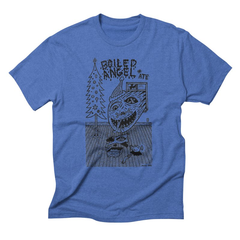 Mike Diana - Boiled Angel #8 Cover Men's Triblend T-Shirt by Mike Diana T-Shirts Mugs and More!