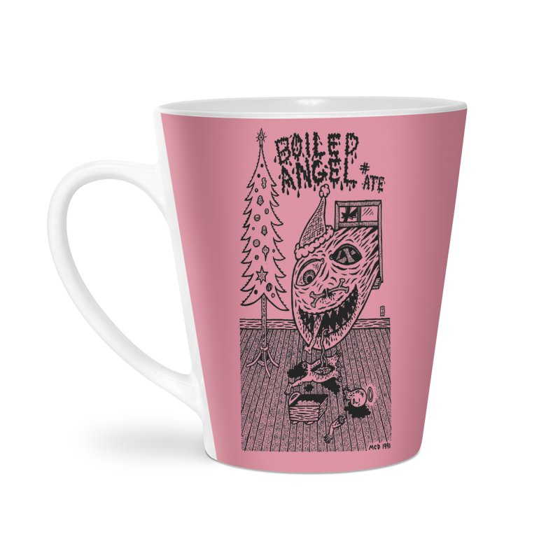 Mike Diana - Boiled Angel #8 Cover Accessories Latte Mug by Mike Diana T-Shirts Mugs and More!