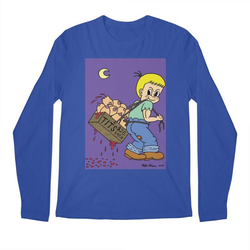 Mike Diana - Tit Boy Men's Regular Longsleeve T-Shirt by Mike Diana T-Shirts Mugs and More!