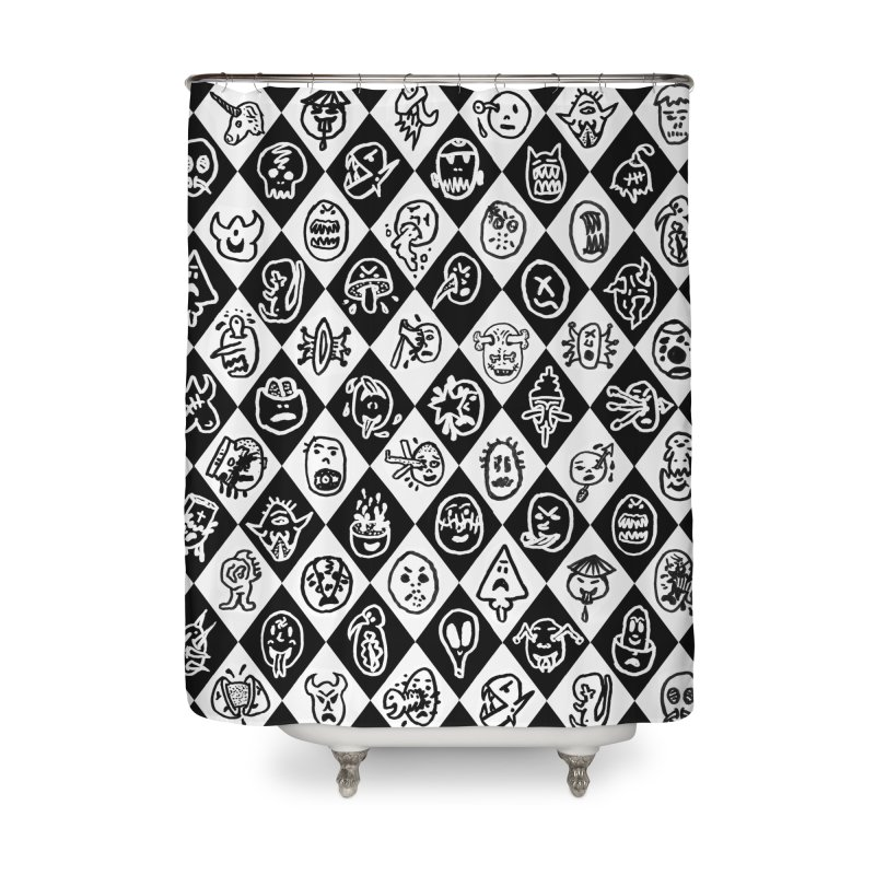 Diamond Head Gift Wrap Home Shower Curtain by Mike Diana T-Shirts Mugs and More!
