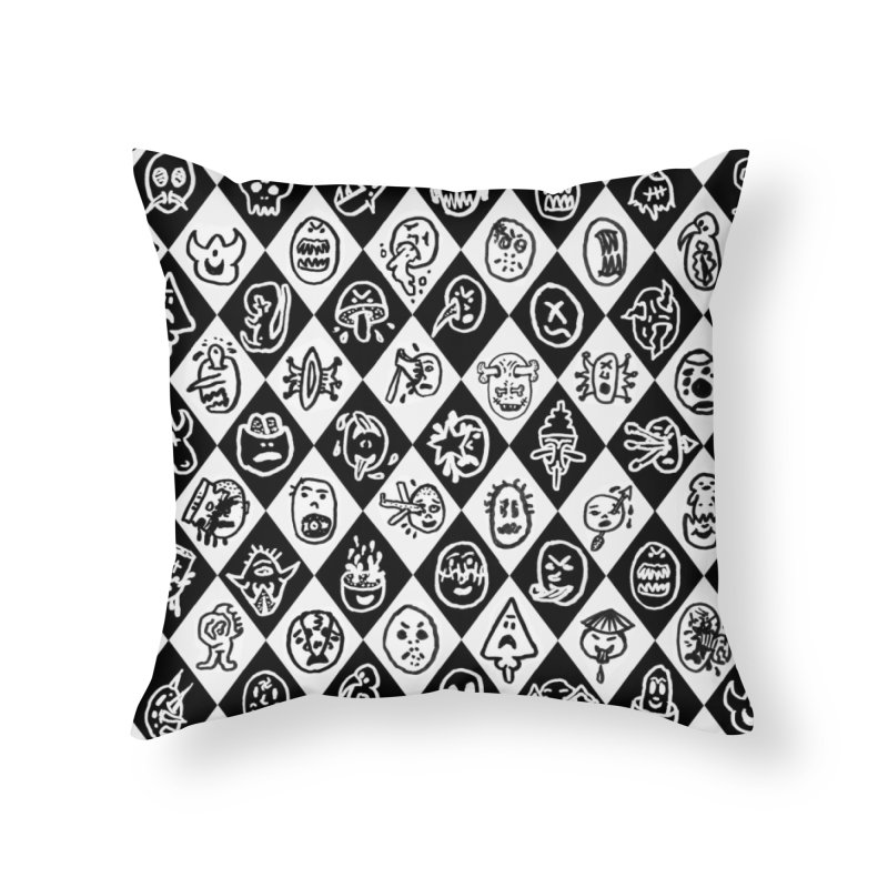 Diamond Head Gift Wrap Home Throw Pillow by Mike Diana T-Shirts Mugs and More!