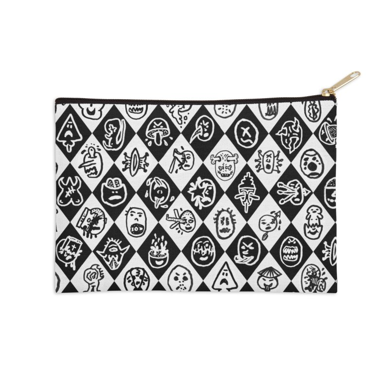 Diamond Head Gift Wrap Accessories Zip Pouch by Mike Diana T-Shirts Mugs and More!