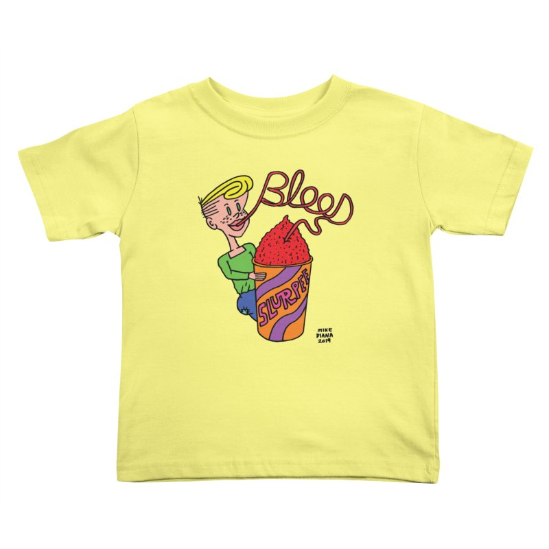Blood Slurpee Kids Toddler T-Shirt by Mike Diana T-Shirts Mugs and More!