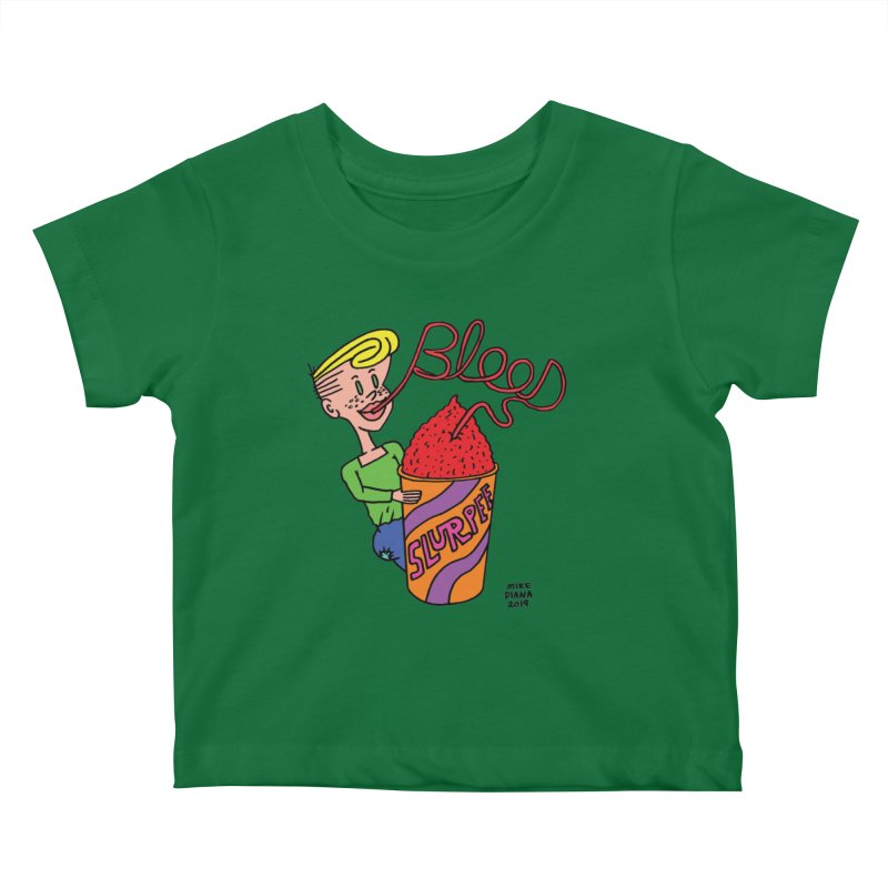 Blood Slurpee Kids Baby T-Shirt by Mike Diana T-Shirts Mugs and More!