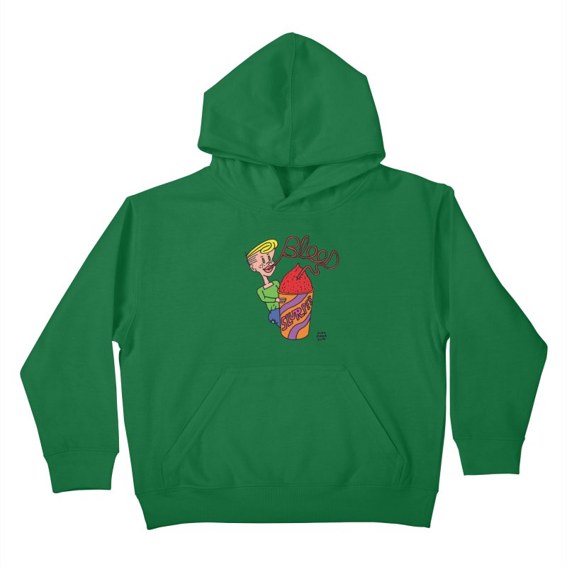 Blood Slurpee Kids Pullover Hoody by Mike Diana T-Shirts Mugs and More!