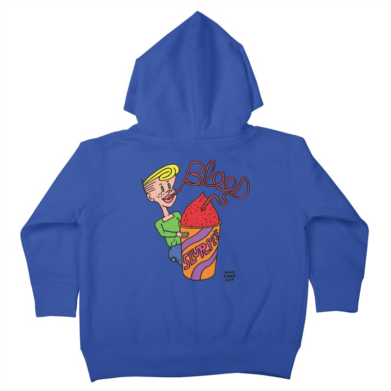 Blood Slurpee Kids Toddler Zip-Up Hoody by Mike Diana T-Shirts Mugs and More!