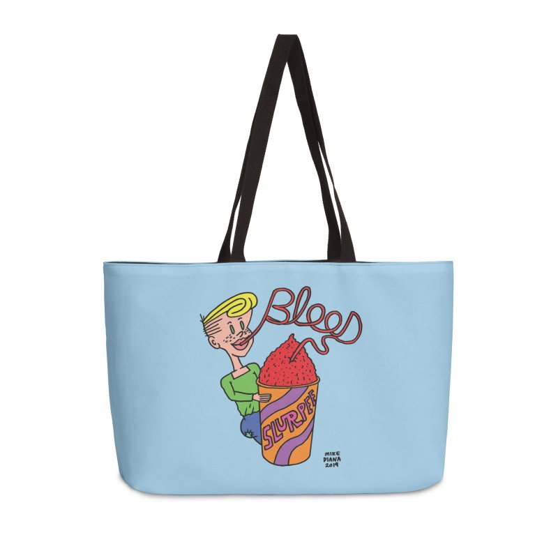 Blood Slurpee Accessories Bag by Mike Diana T-Shirts Mugs and More!