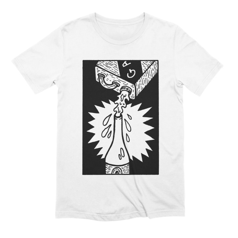 Can And Bottle Men's Extra Soft T-Shirt by Mike Diana T-Shirts Mugs and More!