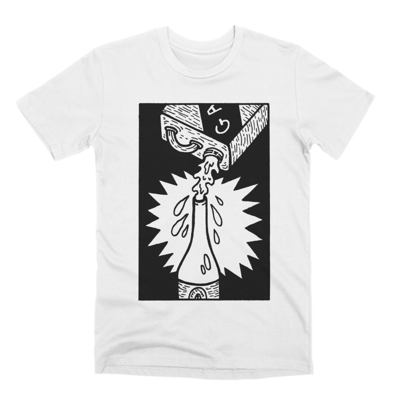 Can And Bottle Men's Premium T-Shirt by Mike Diana T-Shirts Mugs and More!