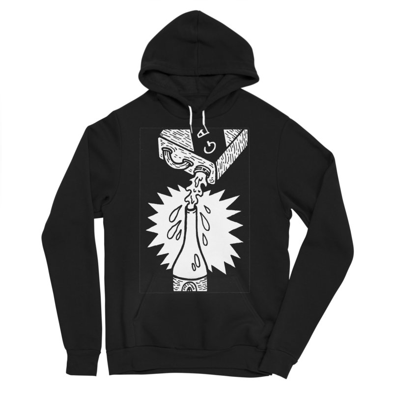 Can And Bottle Men's Sponge Fleece Pullover Hoody by Mike Diana T-Shirts Mugs and More!