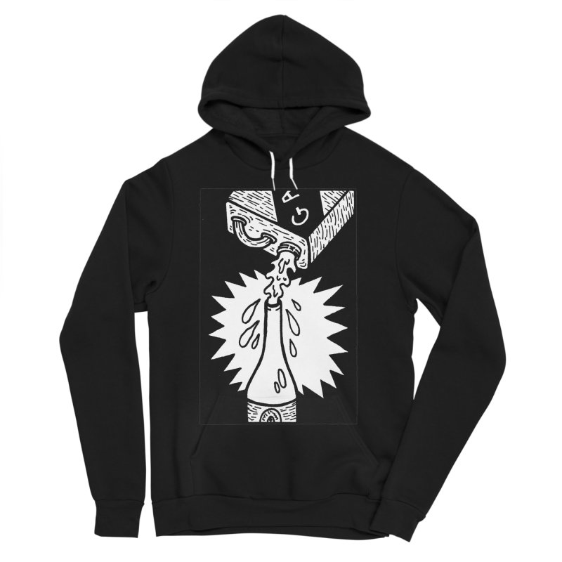 Can And Bottle Women's Sponge Fleece Pullover Hoody by Mike Diana T-Shirts Mugs and More!