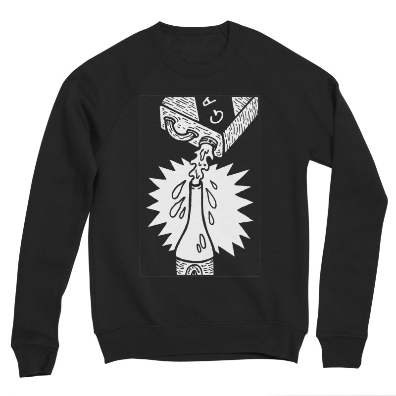 Can And Bottle Men's Sponge Fleece Sweatshirt by Mike Diana T-Shirts Mugs and More!