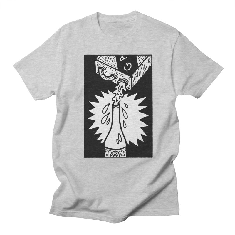 Can And Bottle Men's Regular T-Shirt by Mike Diana T-Shirts Mugs and More!