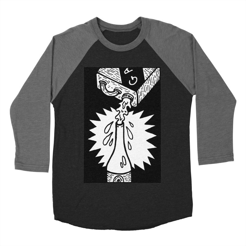 Can And Bottle Men's Baseball Triblend Longsleeve T-Shirt by Mike Diana T-Shirts Mugs and More!