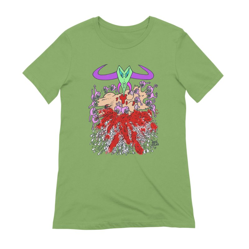 Tadpoles Women's Extra Soft T-Shirt by Mike Diana T-Shirts Mugs and More!