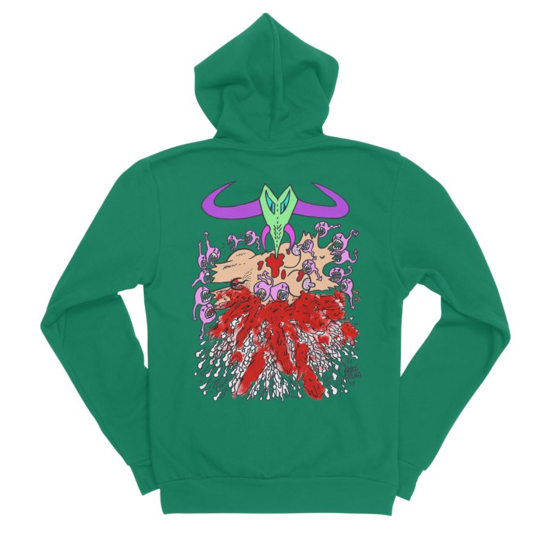 Tadpoles Men's Sponge Fleece Zip-Up Hoody by Mike Diana T-Shirts Mugs and More!
