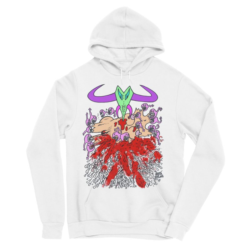 Tadpoles Men's Sponge Fleece Pullover Hoody by Mike Diana T-Shirts Mugs and More!