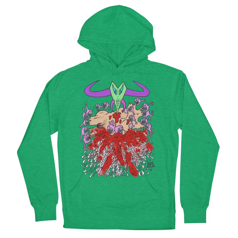 Tadpoles Women's French Terry Pullover Hoody by Mike Diana T-Shirts Mugs and More!