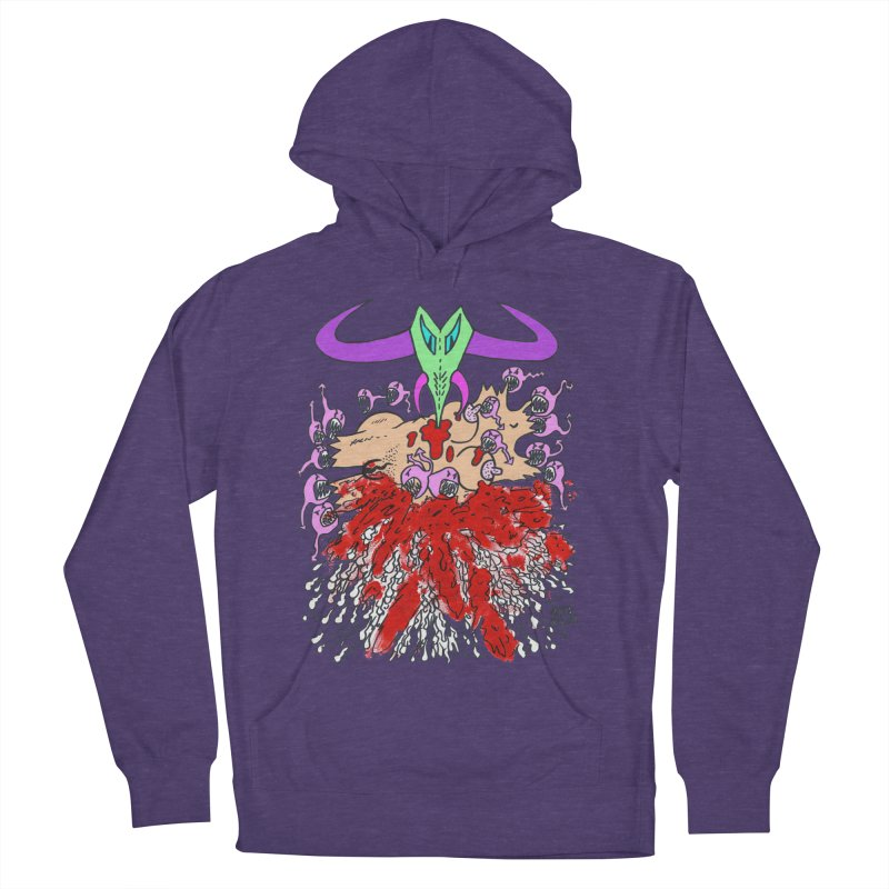 Tadpoles Men's French Terry Pullover Hoody by Mike Diana T-Shirts Mugs and More!