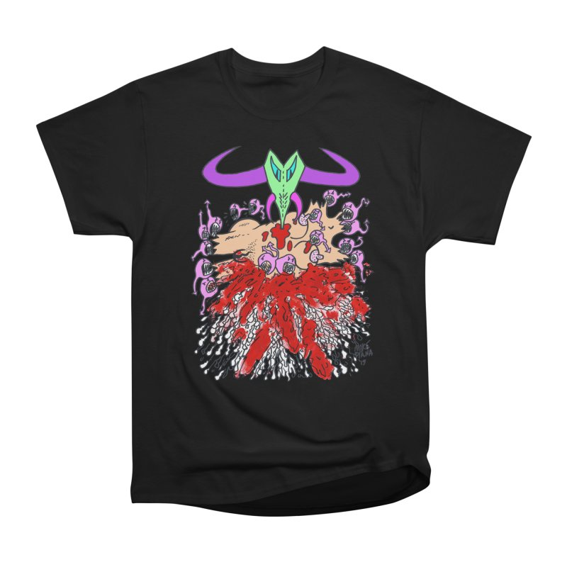 Tadpoles Men's Heavyweight T-Shirt by Mike Diana T-Shirts Mugs and More!
