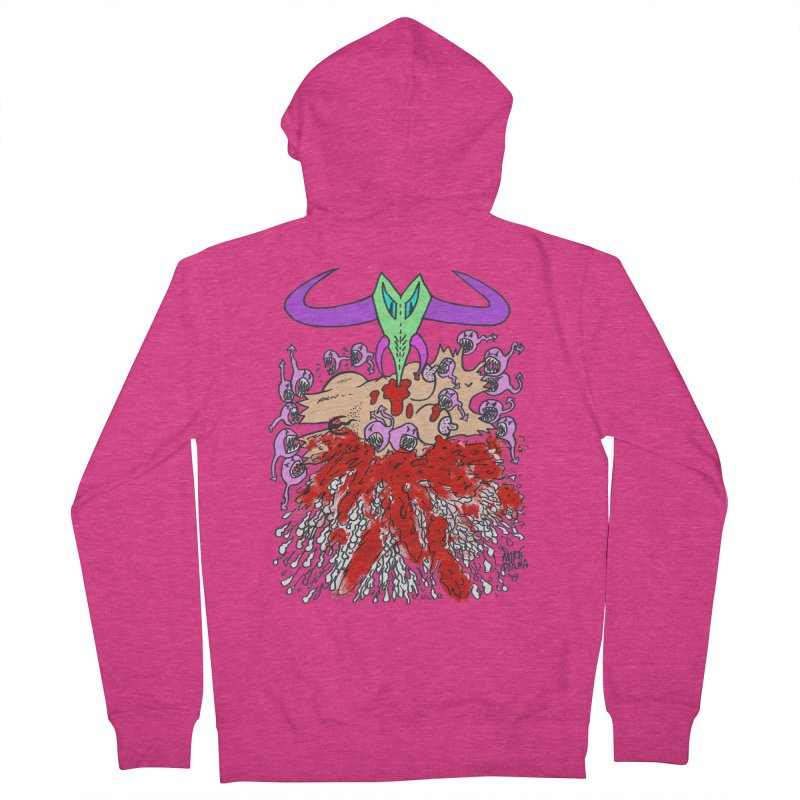 Tadpoles Women's French Terry Zip-Up Hoody by Mike Diana T-Shirts Mugs and More!