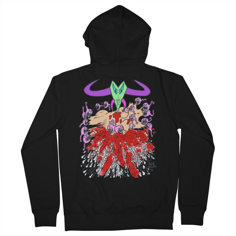 Tadpoles Men's French Terry Zip-Up Hoody by Mike Diana T-Shirts Mugs and More!