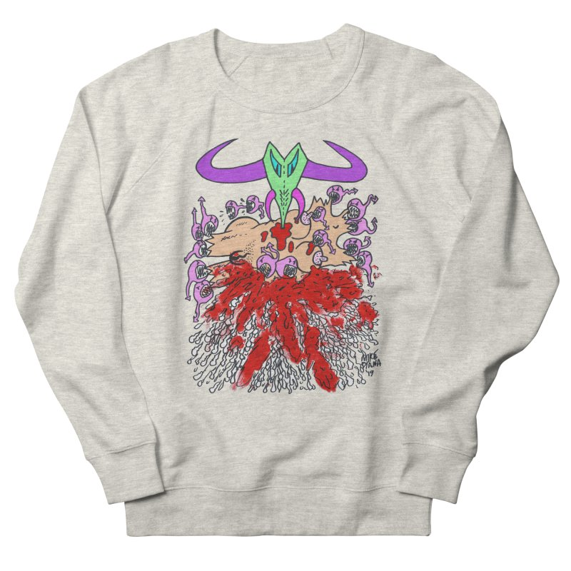 Tadpoles Men's French Terry Sweatshirt by Mike Diana T-Shirts Mugs and More!