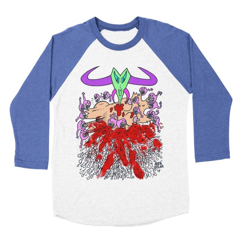 Tadpoles Men's Baseball Triblend Longsleeve T-Shirt by Mike Diana T-Shirts Mugs and More!