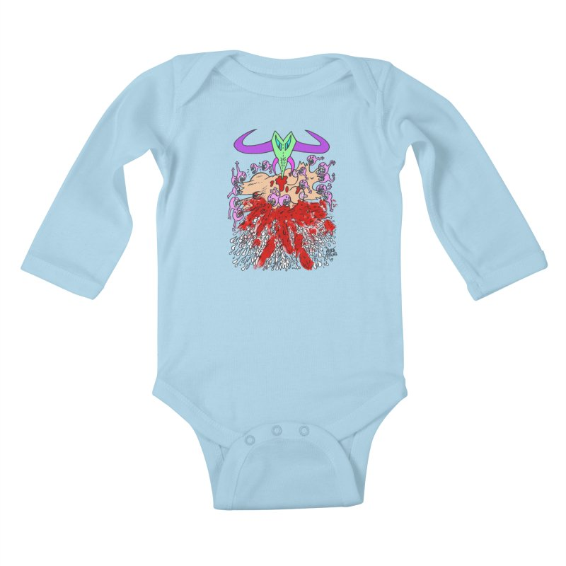 Tadpoles Kids Baby Longsleeve Bodysuit by Mike Diana T-Shirts Mugs and More!